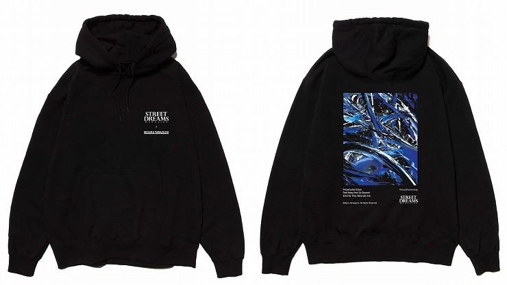 MEGURU YAMAGUCHI×STREET DREAMS MAGAZINE Hoodie - Black/Size M L XL XXL