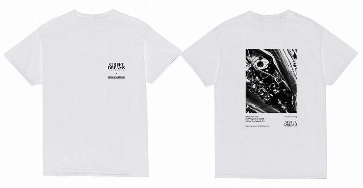 MEGURU YAMAGUCHI×STREET DREAMS MAGAZINE T-Shirt White / Size M L XL XXL