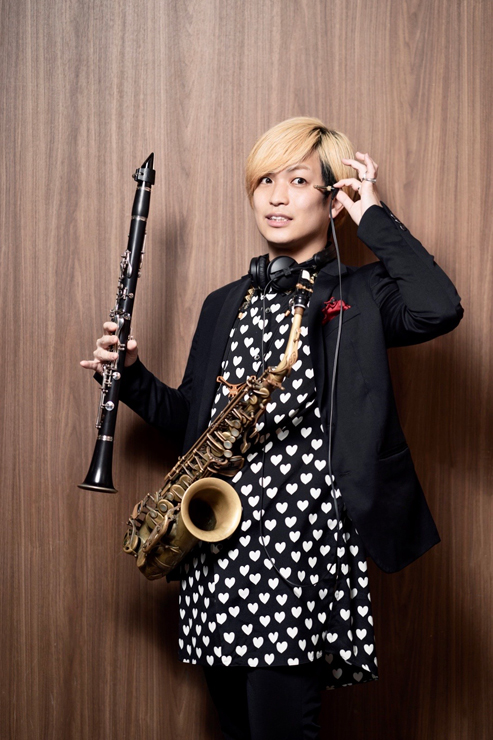 辻本美博(Sax & Clarinet)