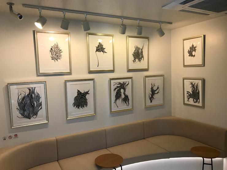 ペン作家『ノナカミホ 個展』2021年2月8日(月)~28日(日)at The Micro Museum Hostel Shibuya Kichijoji