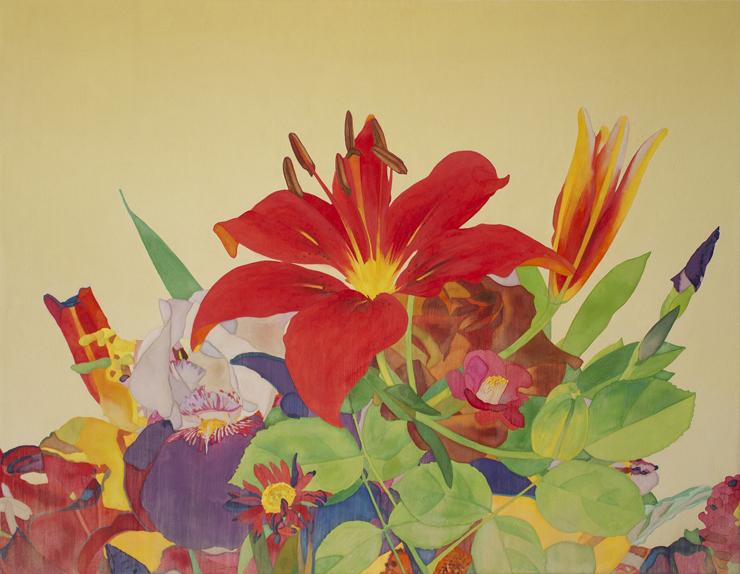 大久保 智睦 「奏」 10P 日本画(和紙・岩絵具)