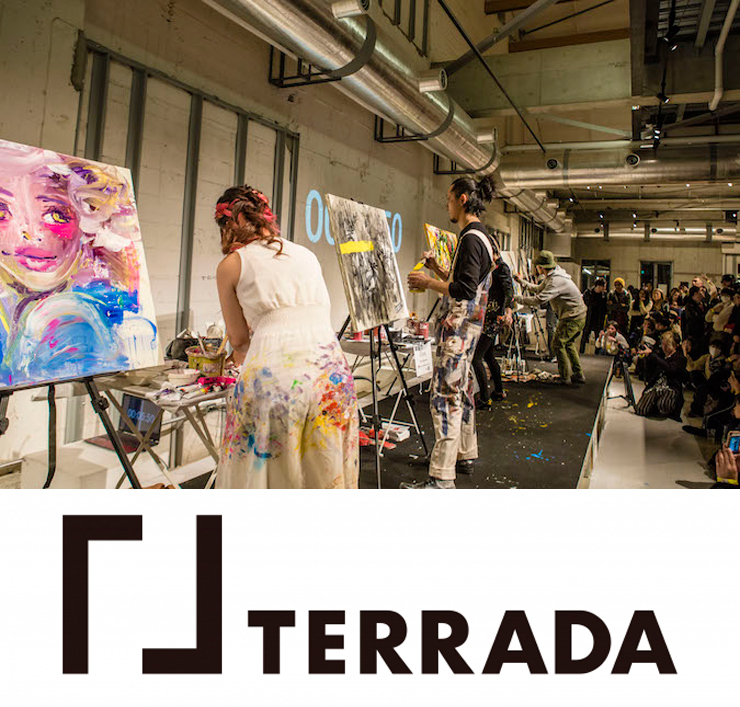 『ART BATTLE Kyoto produced by TERRAD』2021年3月27日(土)at Ace Hotel Kyoto