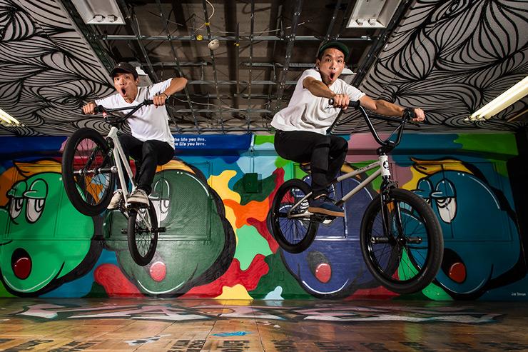 キッズBMX教室『TWINS BMX スクール』produced by T-KIDSシェアスクール 湘南T-SITE