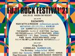FUJI ROCK FESTIVAL '21 ~出演アーティスト第2弾~