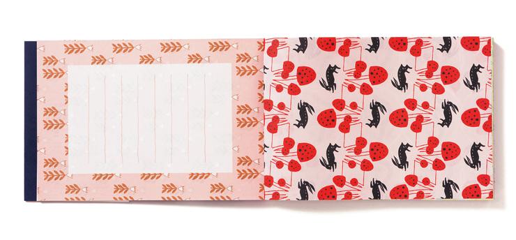 挿絵集『日本のレトロ図案 100枚レターブック』発売。