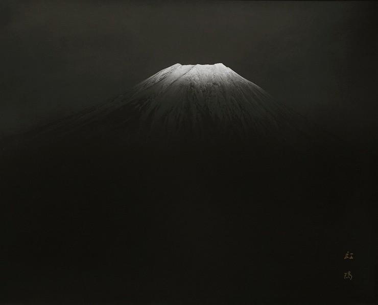 「麗容」 撮影:岡田紅陽 収蔵:岡田紅陽写真美術館