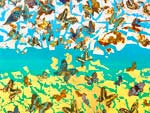『大竹寛子 現代日本画展 -Inner Peace-』2021年7月21日(水)~27日(火) at 大丸心斎橋店 本館8階 アールグロリュー ギャラリー オブ オーサカ