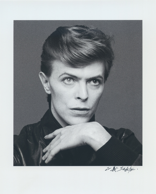 David Bowie, from Heroes Session, 1977