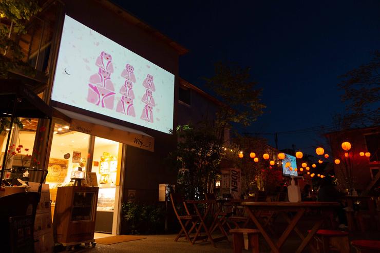 『あたらしい夜の花火』2021年8月1(日)~31(火) at 下北沢BONUS TRACK