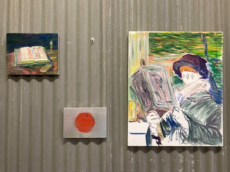 飯田美穂 個展「1QQ1/本をよむ絵、しるしを所有するもの」