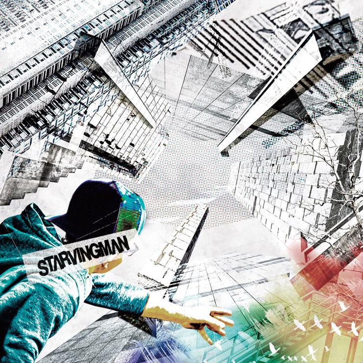 STARVINGMAN - New EP『分厚い壁に小石を投げ続けるep』Release