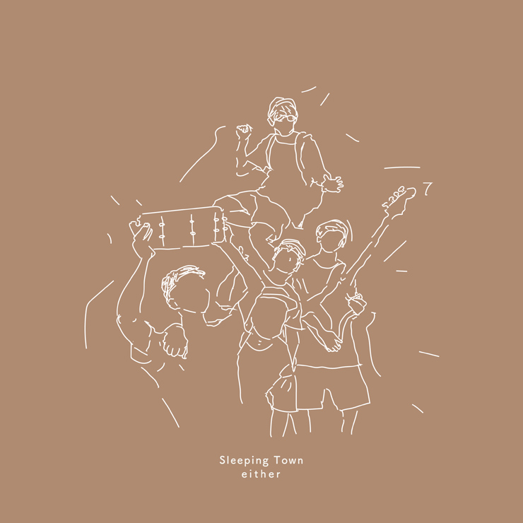 either - New Single『Sleeping Town』Release