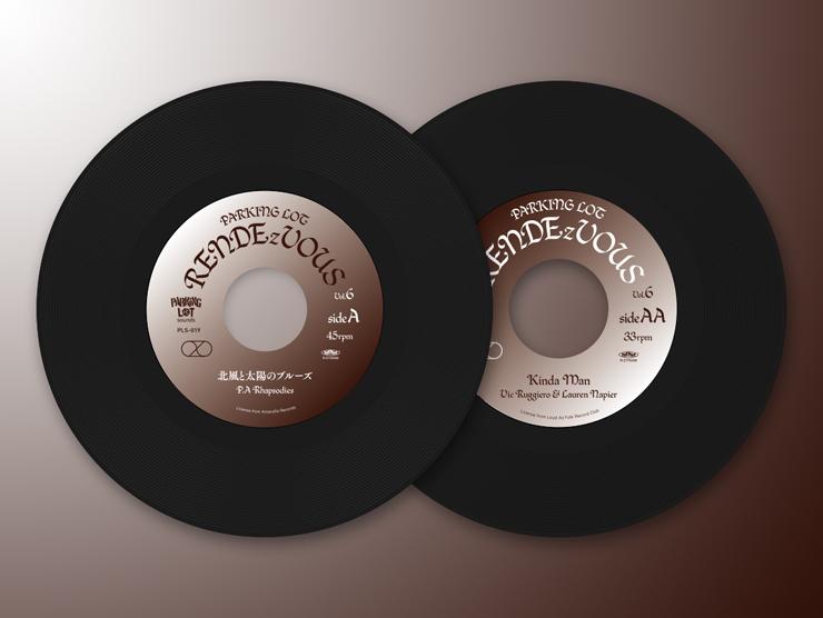 P.A Rhapsodies × Vic Ruggiero & Lauren Napier – 限定7インチシングル『PARKING LOT RENDEzVOUS Vol.6』