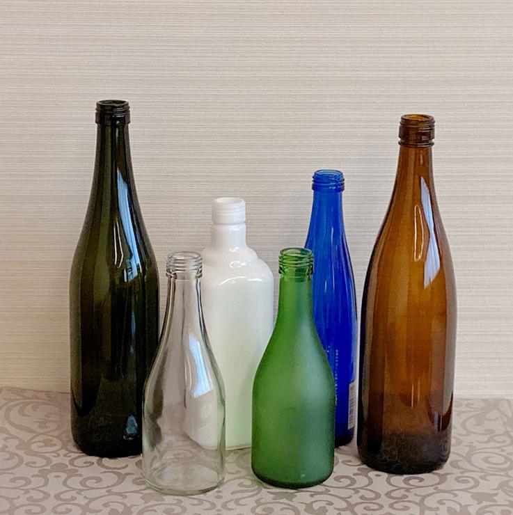使用済み空き瓶