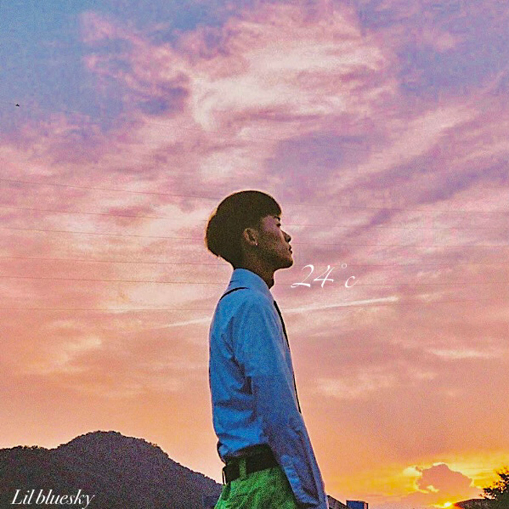 Lil bluesky - New EP『24℃』Release