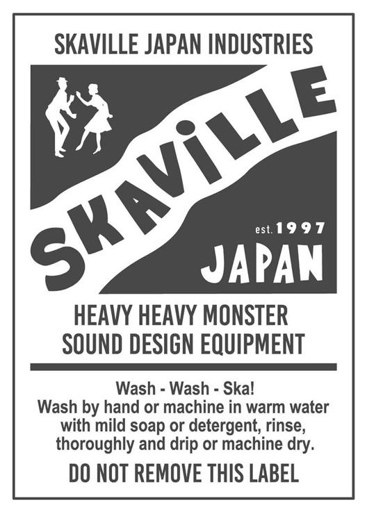 SKAViLLE JAPAN エクスクルーシブアイテム『SKA STROKE (ポケット付きロングスリーブTシャツ 6.0oz)』受注限定発売